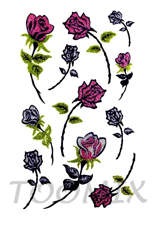 Тату роза