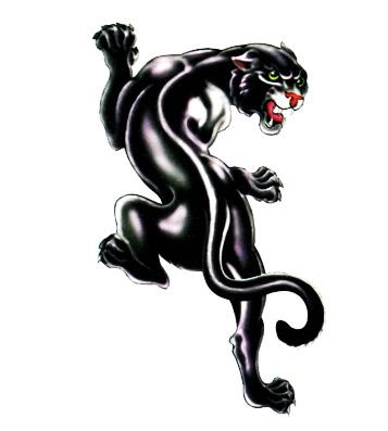 Переводная татуирвка пантера