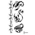 Тату «Черный скорпион»