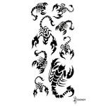 Временная татуировка «Черный скорпион»