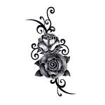 Переводная роза