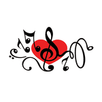 Переводная тату «Скрипичный ключ»