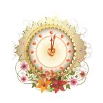 Тату наклейка «Часы»