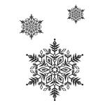 Переводные снежинки