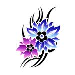 Переводной цветок