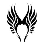 Переводная наклейка «Крылья»