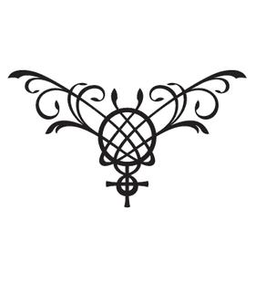 Переводная тату «Знак Венеры»
