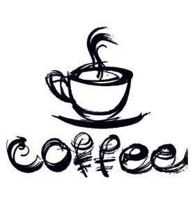 Переводная наклейка «Кофе»