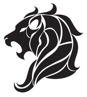 Наклейка тату «Знак Льва»