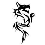 Переводная наклейка «Дракон»