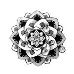 Переводная татуировка в виде орнамента