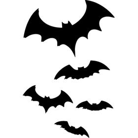 """Переводная татуировка """"Летучие мыши"""""""