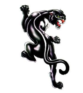 Переводная наклейка «Пантера»