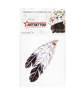 Переводная тату «Индейское перо»