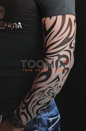 Татуировка рукав трайбл